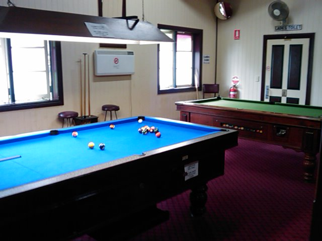 Pool Table, Public Bar