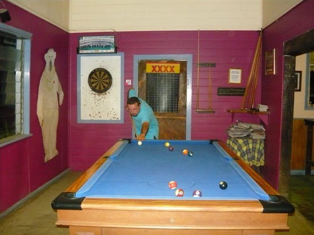 The Einasleigh Pool Hall