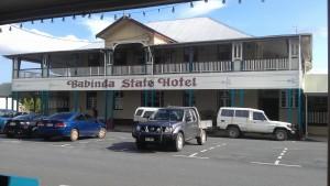 The stately, State Hotel, Babinda.